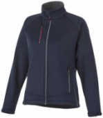 Chuck softshell damesjack - Navy - XL