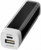Flash powerbank 2200mAh - Zwart