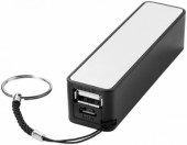 Jive powerbank 2000mAh - Zwart,Wit