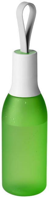 Flow drinkfles - Frosted green,Wit