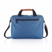PVC vrije fashion duo tone laptop tas
