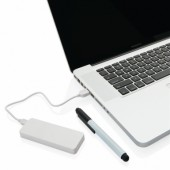 Powerbank en pen set