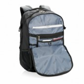 Swiss Peak 15 outdoor laptop rugzak met regenhoes